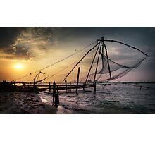 Kochi sundown.  Photographic Print