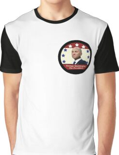 George Washington For President Graphic T-Shirt