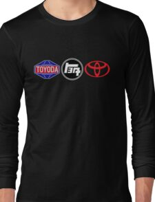 Toyota Logos - first to last Long Sleeve T-Shirt