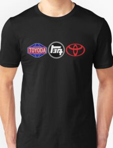 Toyota Logos - first to last T-Shirt