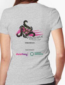 Phoenix Netball Club - sponsor's 2014 Womens Fitted T-Shirt