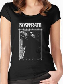 Retro Nosferatu Women's Fitted Scoop T-Shirt