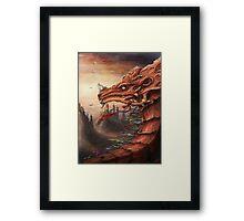 tibet dragon Framed Print