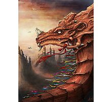 tibet dragon Photographic Print