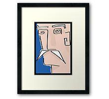 Moustachio Framed Print