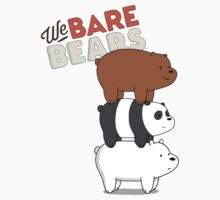 We Bare Bears - Cartoon Network One Piece - Short Sleeve