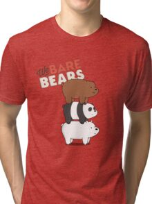 We Bare Bears - Cartoon Network Tri-blend T-Shirt