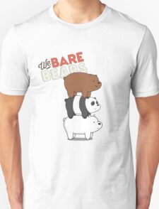 We Bare Bears - Cartoon Network Unisex T-Shirt