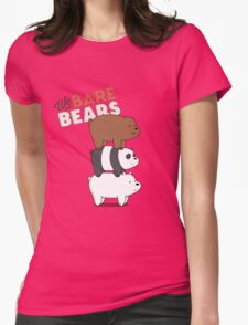 We Bare Bears - Cartoon Network Womens Fitted T-Shirt
