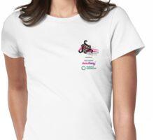 Phoenix Netball Club sponsor tee - small logo 2014 Womens Fitted T-Shirt