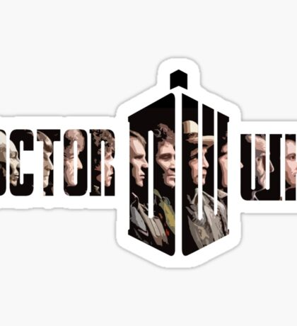 Doctor Who? Sticker