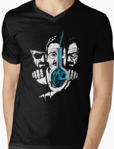The Devil on his Shoulder Mens V-Neck T-Shirt