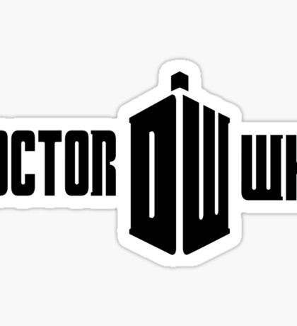 Doctor Who Logo Sticker