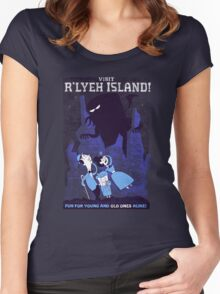 Visit R'lyeh Island Women's Fitted Scoop T-Shirt