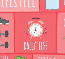 Healthy Lifestyle Sticker