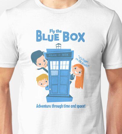 Fly the Blue Box! Unisex T-Shirt