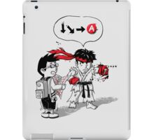 Hadoken? iPad Case/Skin