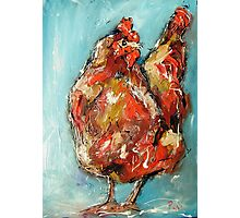Quirky rooster  Photographic Print