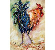 King rooster  Photographic Print