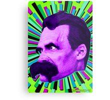 Nietzsche Burst 6 - by Rev. Shakes Metal Print