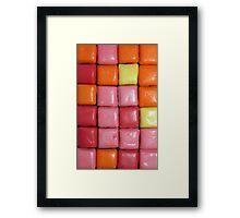 Starburst Minis macro Framed Print