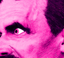 Nietzsche Burst 7 - by Rev. Shakes Sticker