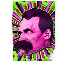 Nietzsche Burst 7 - by Rev. Shakes Poster