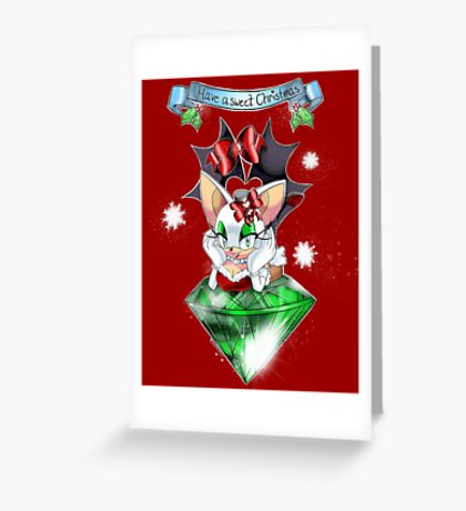 Christmas Rouge: Sweet treat  Greeting Card