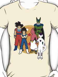 DBZ. Dragon ball. Fanart.  T-Shirt