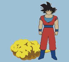 Goku and his cloud fanart Kids Clothes
