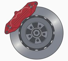Disc Brake Design - Sticker by TERRAOperative