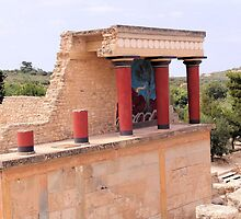 Knossos - Minoan Capital by Francis Drake