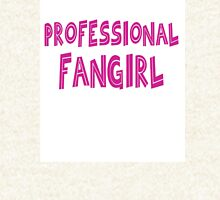 Professional Fangirl Zipped Hoodie