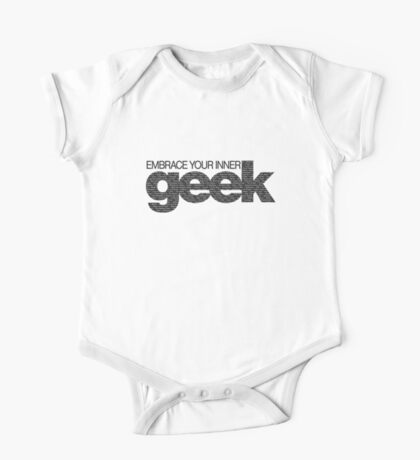 Embrace Your Inner Geek (Black) One Piece - Short Sleeve
