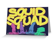 Squid Squad Greeting Card