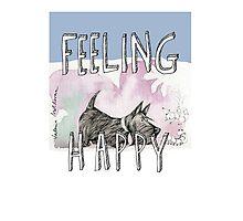 feeling happy 2 Photographic Print