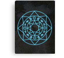 Fortune Circle Canvas Print