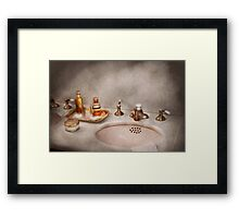 Plumber - First thing in the morning Framed Print