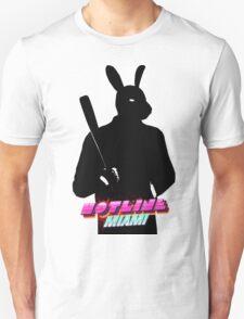 Hotline Miami Graham Silhouette  T-Shirt