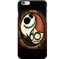 Joker and Harley yin and yang iPhone Case/Skin