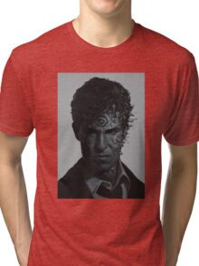 True Detective art Tri-blend T-Shirt