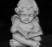 Sitting Angel  by vivaciousdesign