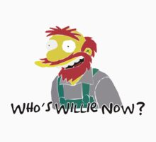 Groundskeeper Willie - Simpsons by danbell4291