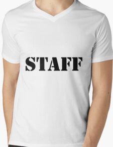 Staff Mens V-Neck T-Shirt