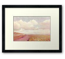 Lensbaby Seaside  Framed Print