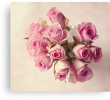Mothers Day Roses  Canvas Print