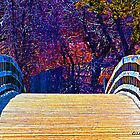 First Day of Spring on a Bridge by Gilda Axelrod