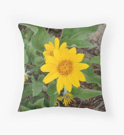Wild Flower Throw Pillow