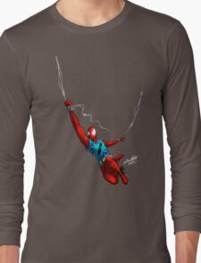 Scarlet Spider (No background) Long Sleeve T-Shirt