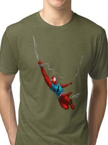 Scarlet Spider (No background) Tri-blend T-Shirt